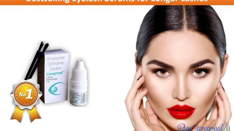 Bestselling Eyelash Serums for Longer Lashes
